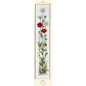 Eva Rosenstand  Bell Pull Cross Stitch Kit: Poppy