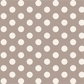 Tilda Tilda Fabric - Basics - Medium Dots Grey