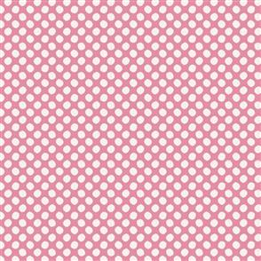 Tilda Tilda Fabric - Basics - Paint Dots Pink