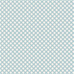 Tilda Tilda Basics - Paint Dots Light Blue