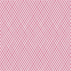 Tilda  Fabric - Basics - Crisscross Pink