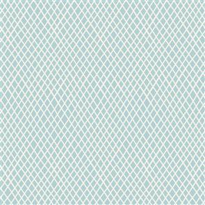 Tilda  Fabric - Basics - Crisscross Light Blue