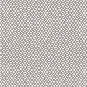 Tilda  Fabric - Basics - Crisscross Grey