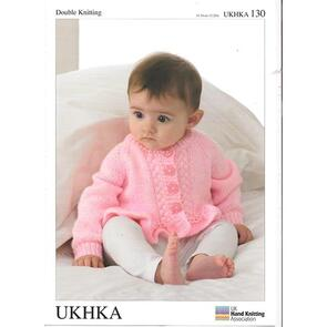 UKHKA Pattern 130 Cardigans and Sweater