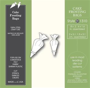 Poppystamps Cake Frosting Bags - Die