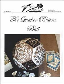 Amaryllis Artworks  Pattern - The Quaker Button Ball