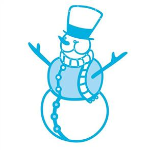 Tonic  Dies - Christmas - Joyful Snowman