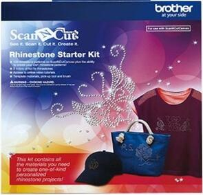 Brother Fabric Scan 'N' Cut - rhinestone Kit