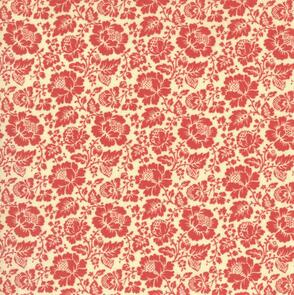 French General French General La Rose Rouge Feligonde - Pearl/ Faded Red