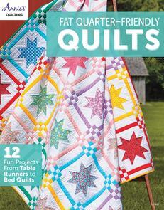 Annie's Books Fat Quarter Friendly Quilts