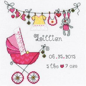 Riolis  It's a Girl! - Cross Stitch Kit