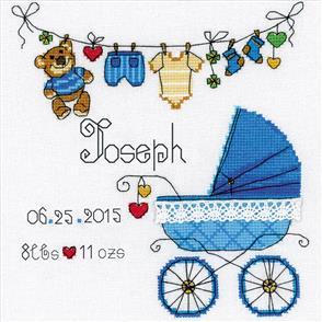 Riolis  It's a Boy! - Cross Stitch Kit