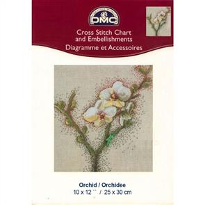 DMC  Cross Stitch Chart - Orchid