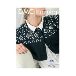 DMC  Knitting Collection 15136 Cropped Monochrome Top