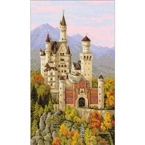 Riolis  Neuschwanstein Castle - Cross Stitch Kit