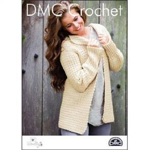 DMC Crochet - Woolly 5 - Slouchy Sunday Jacket