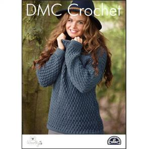 DMC  Crochet - Woolly 5 - Snuffle-Up Sweater