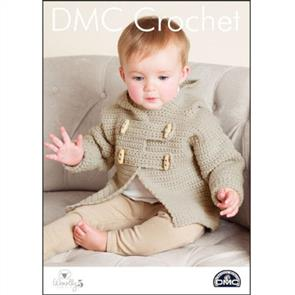DMC  Crochet - Woolly 5 - Teddy Toggle Jacket