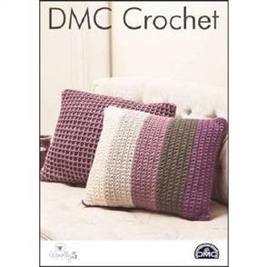 DMC Crochet - Woolly 5 - Waffle & Star Cushions