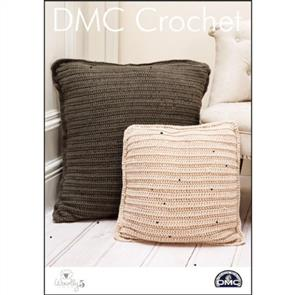 DMC  Crochet - Woolly 5 - Toasty Toes Floor Cushion