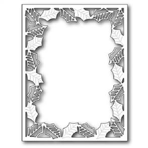 Poppystamps  Die - Delicate Holly Frame