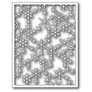 Poppystamps  Die - Snowflake Lattice Frame