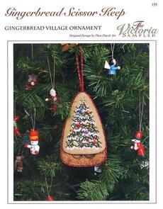 The Victoria Sampler  Gingerbread Scissor Keep
