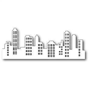 Poppystamps  Die - Downtown Urban Landsape