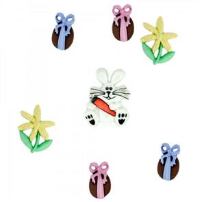 Dress It Up Embellishments - Bunny Hop