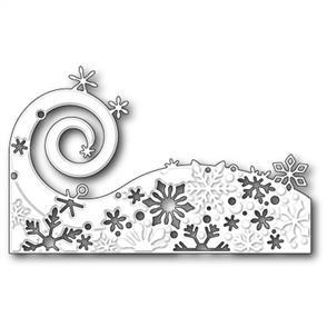 Poppystamps  Die - Snowflake Wave