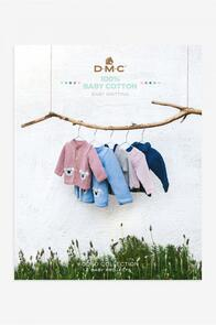 DMC  Book 100% Baby Cotton - Baby Knitting