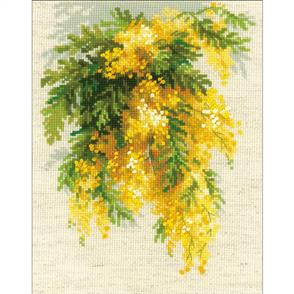 Riolis  Mimosa - Cross Stitch Kit