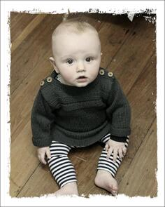The Kiwi Stitch & Knit Co  Vintage Jumper Pattern - 4ply and 8ply