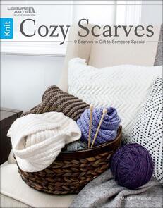 Leisure Arts Cozy Scarves
