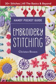 C&T Publishing Embroidery Stitching Handy Pocket Guide