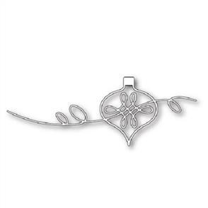 Poppystamps  Die - Ribbon Curl Ornament