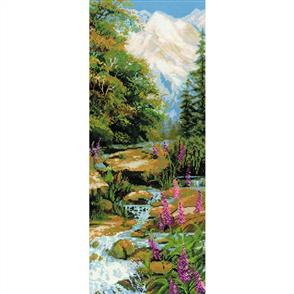 Riolis  Mountain River - Counted Cross Stitch Kit