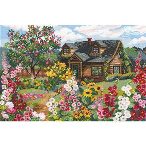 Riolis  Flowering Garden - Counted Cross Stitch Kit