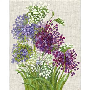 Riolis  Allium - Counted Cross Stitch Kit