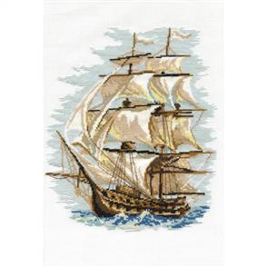 Riolis  Ship - Counted Cross Stitch Kit