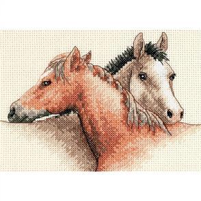 Dimensions  Horse Pals - Cross Stitch