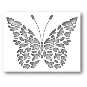 Poppystamps  Die - Flickering Butterfly Collage