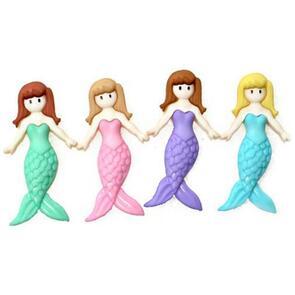 Dress It Up  Embellishments - Mermaid Friends
