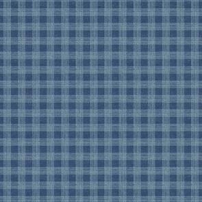 Wilmington Prints Bohemian Blue Plaid - Blue
