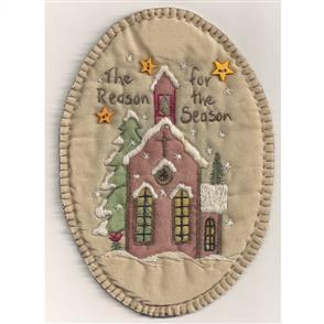 Chickadee Hollow Christmas Keepsake Ornament - The Reason For The Season