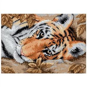 Dimensions  Beguiling Tiger - Cross Stitch Kit