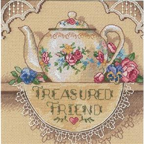 Dimensions  Treasured Friend - Cross Stitch Kit