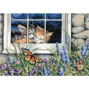 Dimensions  Feline Love - Cross Stitch Kit