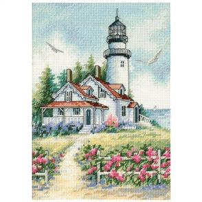 Dimensions  Scenic Lighthouse - Cross Stitch Kit