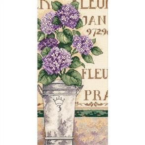 Dimensions  Hydrangea Floral - Cross Stitch Kit